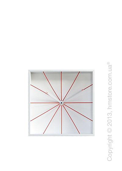 Часы настенные Progetti Prospettivo Wall Clock, White