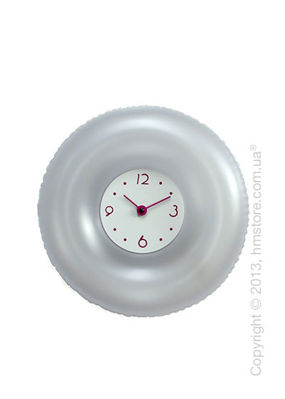 Часы настенные Progetti Salvatempo 2 Wall Clock, Silver
