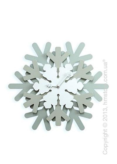 Часы настенные Progetti Snowflake Wall Clock