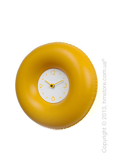 Часы настенные Progetti Salvatempo 2 Wall Clock, Yellow