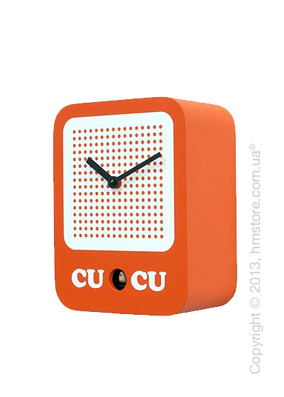 Часы настенные Progetti Cucuradio Wall Clock, Orange