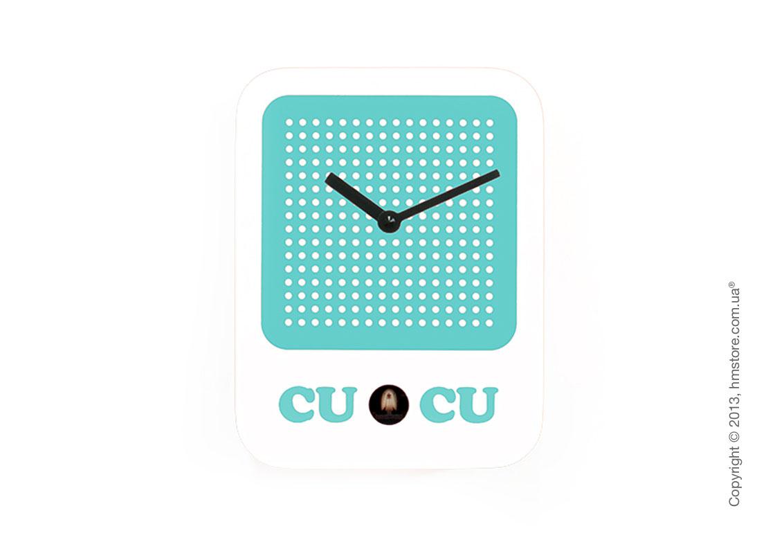 Часы настенные Progetti Cucuradio Wall Clock, White