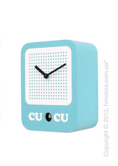 Часы настенные Progetti Cucuradio Wall Clock, Blue