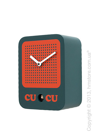 Часы настенные Progetti Cucuradio Wall Clock, Onyx