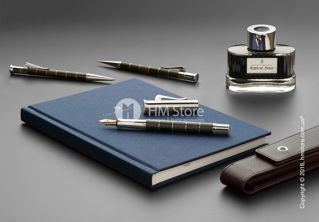 Ручка перьевая Graf von Faber-Castell серия Classic Anello, коллекция Ebony