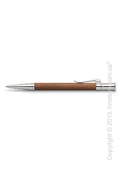 Ручка шариковая Graf von Faber-Castell серия Classic, коллекция Pernambuco, Finely Fluted