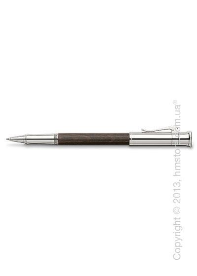 Ручка роллер Graf von Faber-Castell серия Classic, коллекция Grenadilla, Finely Fluted