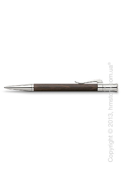 Ручка шариковая Graf von Faber-Castell серия Classic, коллекция Grenadilla, Finely Fluted