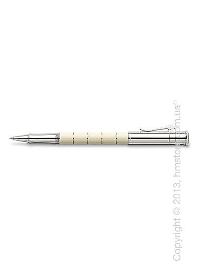 Ручка роллер Graf von Faber-Castell серия Classic Anello, коллекция Ivory