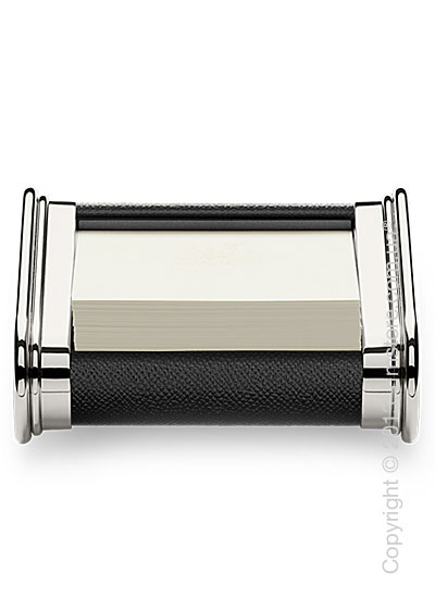 Подставка для заметок Graf von Faber-Castell, Black Grained Leather