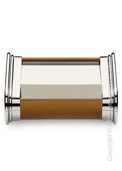 Подставка для заметок Graf von Faber-Castell, Cognac Grained Leather