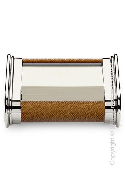 Подставка для заметок Graf von Faber-Castell, Cognac Grained Leather
