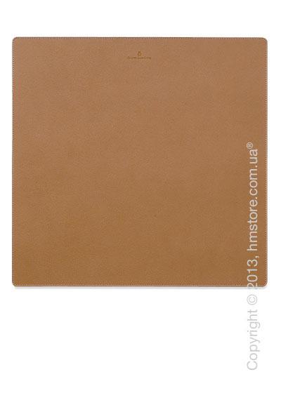 Настольный коврик для письма Graf von Faber-Castell, Cognac Grained Leather