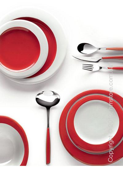 Столовый сервиз Bugatti Glamour, на 6 персон, Red
