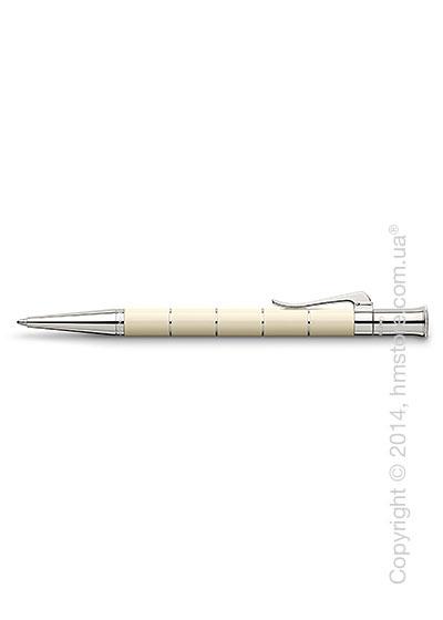 Ручка шариковая Graf von Faber-Castell серия Classic Anello, коллекция Ivory