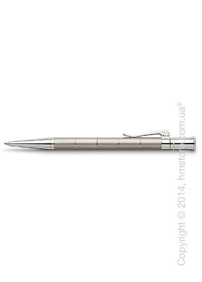 Ручка шариковая Graf von Faber-Castell серия Classic Anello, коллекция Titanium