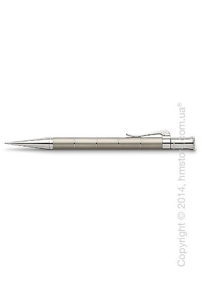 Карандаш механический Graf von Faber-Castell серия Classic Anello, коллекция Titanium