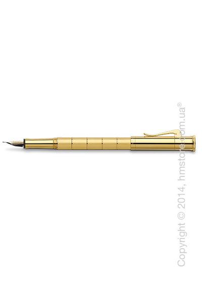 Ручка перьевая Graf von Faber-Castell серия Classic Anello, коллекция Gold