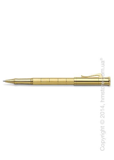 Ручка роллер Graf von Faber-Castell серия Classic Anello, коллекция Gold