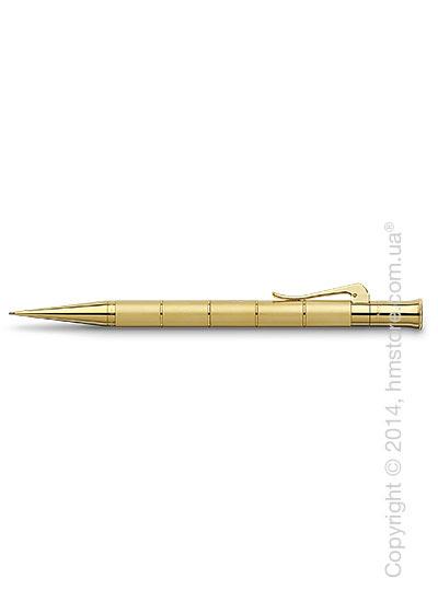 Карандаш механический Graf von Faber-Castell серия Classic Anello, коллекция Gold