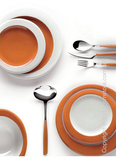 Столовый сервиз Bugatti Glamour, на 6 персон, Orange