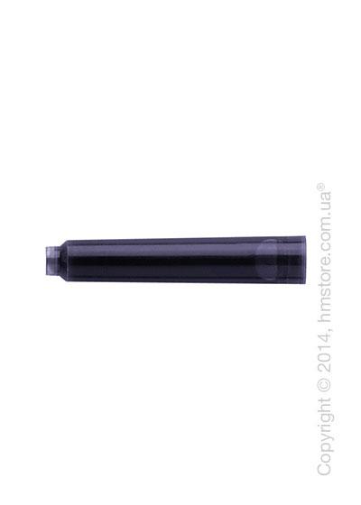 Набор сменных картриджей Graf von Faber-Castell для перьевой ручки, 6 предметов, Черного цвета