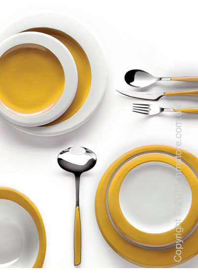 Столовый сервиз Bugatti Glamour, на 6 персон, Yellow