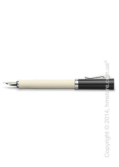 Ручка перьевая Graf von Faber-Castell серия Intuition, коллекция Ribbed Ivory, Finely Fluted