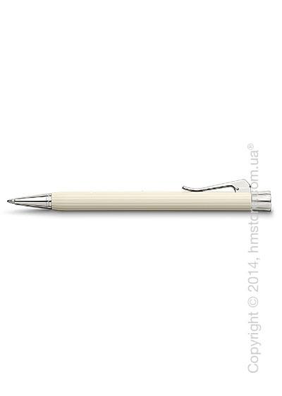Ручка шариковая Graf von Faber-Castell серия Intuition, коллекция Ribbed Ivory, Finely Fluted