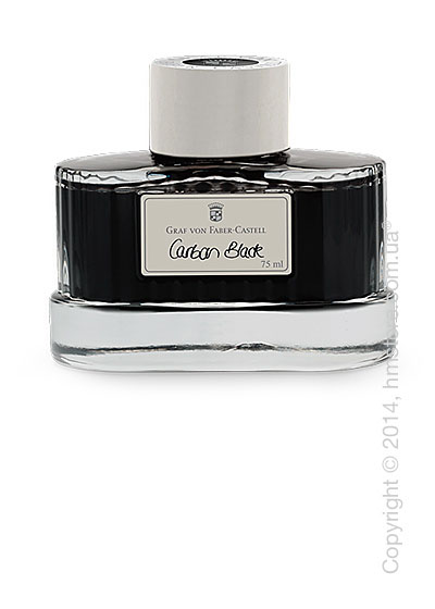 Чернила Graf von Faber-Castell для перьевых ручек, Carbon Black