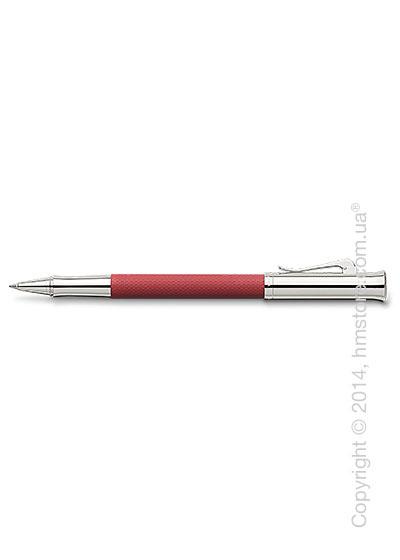 Ручка роллер Graf von Faber-Castell серия Guilloche, коллекция Coral, Guilloche Engraving