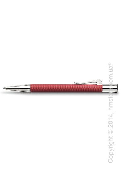 Ручка шариковая Graf von Faber-Castell серия Guilloche, коллекция Coral, Guilloche Engraving