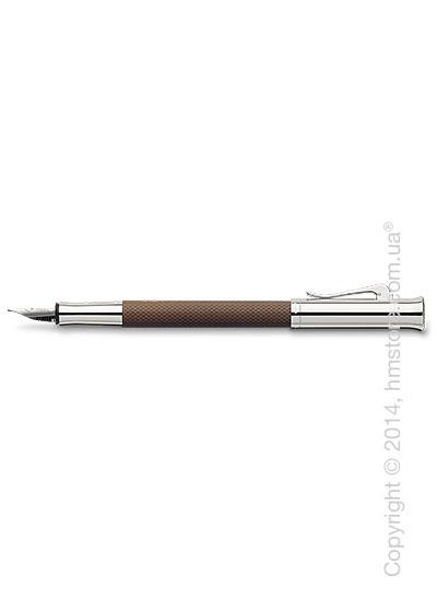 Ручка перьевая Graf von Faber-Castell серия Guilloche, коллекция Cognac, Guilloche Engraving