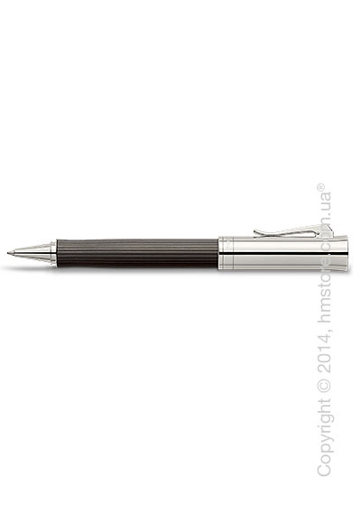 Ручка роллер Graf von Faber-Castell серия Intuition Platino Wood, коллекция Grenadilla, Finely Fluted