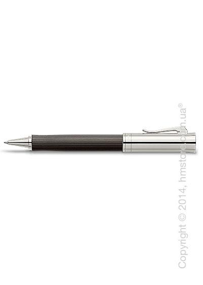 Ручка роллер Graf von Faber-Castell серия Intuition Platino Wood, коллекция Grenadilla, Finely Fluted