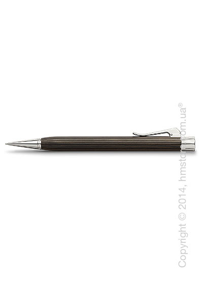 Карандаш механический Graf von Faber-Castell серия Intuition Platino Wood, коллекция Grenadilla, Finely Fluted