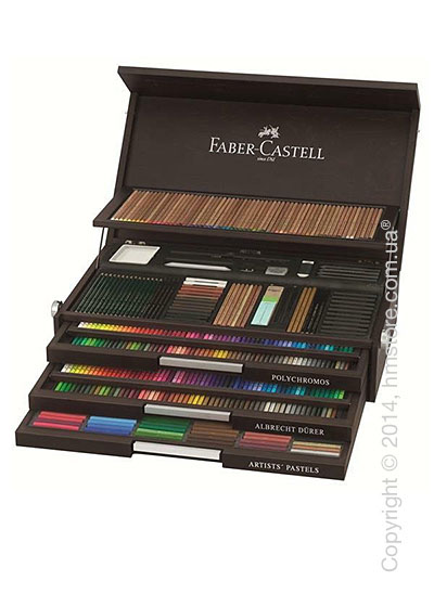 Набор карандашей Faber-Castell 250th Anniversary Collection Wooden Box, Limited Edition