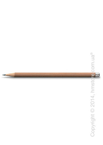 Карандаш Graf von Faber-Castell Pencil NO. III, with Silver Cap