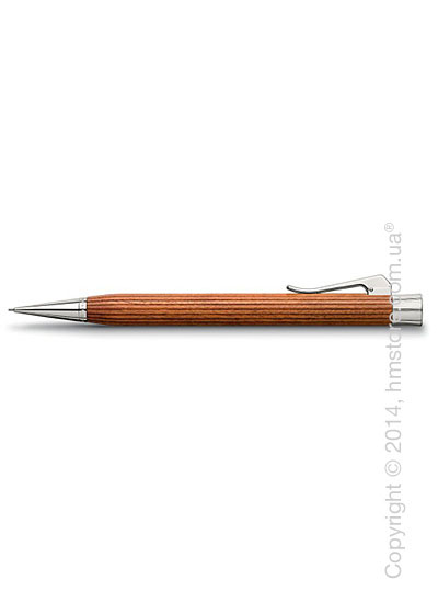 Карандаш механический Graf von Faber-Castell серия Intuition Platino Wood, коллекция Pernambuco
