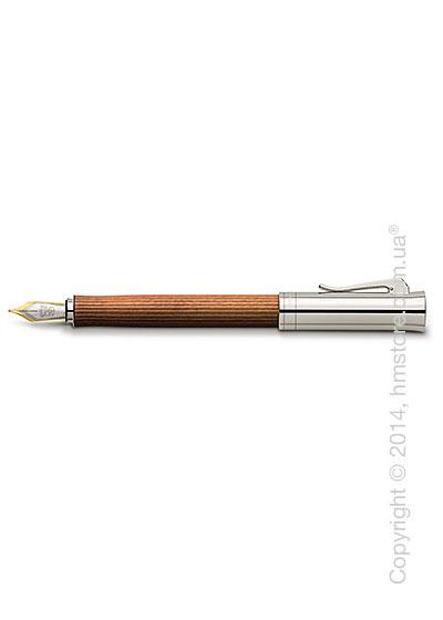 Ручка перьевая Graf von Faber-Castell серия Intuition Platino Wood, коллекция Pernambuco