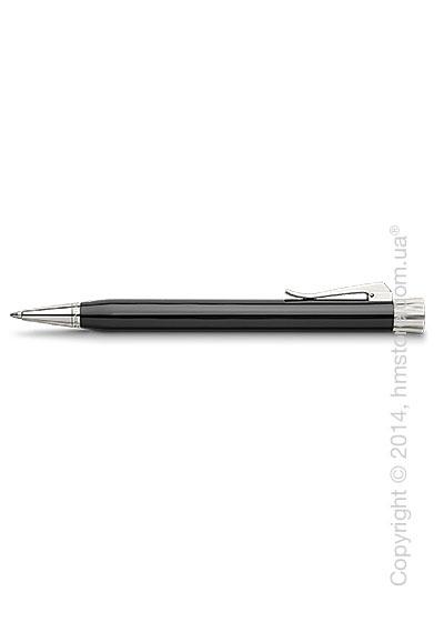 Ручка шариковая Graf von Faber-Castell серия Intuition Platino, коллекция Black