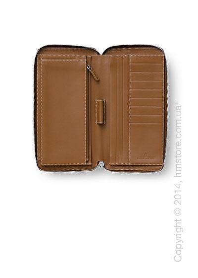 Футляр для путешественника Graf von Faber-Castell, Travel Wallet, Cognac