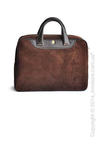 Мужская замшевая сумка Nazareno Gabrielli серия Trend Line