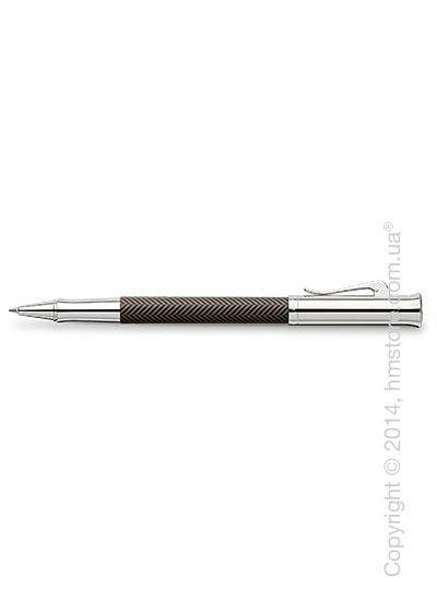 Ручка роллер Graf von Faber-Castell серия Guilloche, коллекция Ciselé, Brown