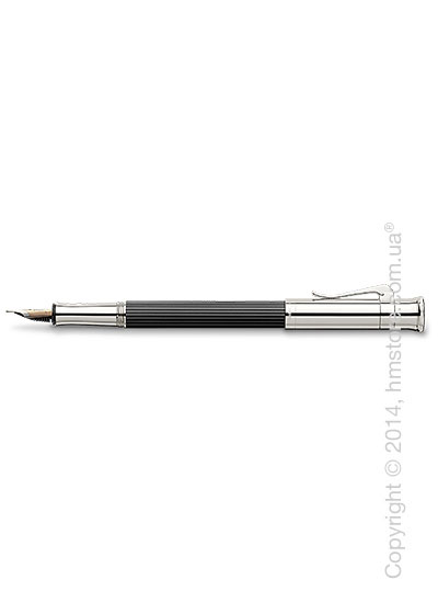 Ручка перьевая Graf von Faber-Castell серия Classic, коллекция Ebony, Finely Fluted