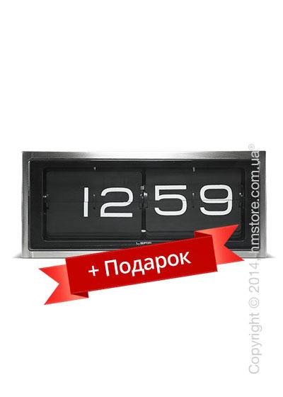 Часы LEFF Amsterdam wall/desk clock brick 24h + Подарок Гигрометр Stadler Form Selina
