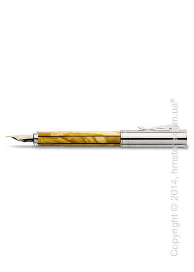 Ручка перьевая Graf von Faber-Castell серия Elemento, коллекция Olive Wood