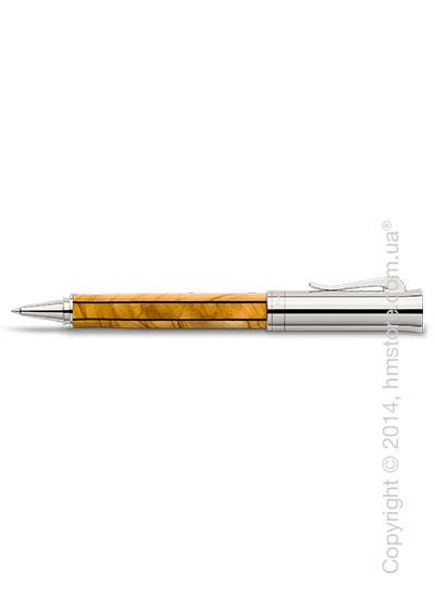 Ручка роллер Graf von Faber-Castell серия Elemento, коллекция Olive Wood