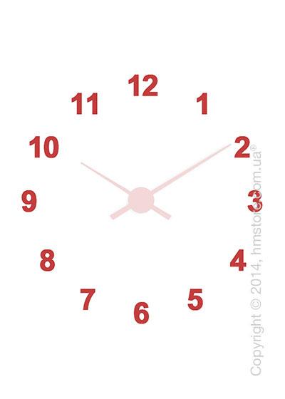 Цифры для настенных часов Nomon Oj, Acrylic Red (12)