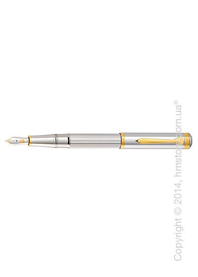 Ручка перьевая Pelikan серия Premium, коллекция Majesty M7000, Silver-Gold